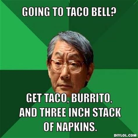 Asian Dad Meme Generator - cool ranch doritos locos tacos non ski gabber