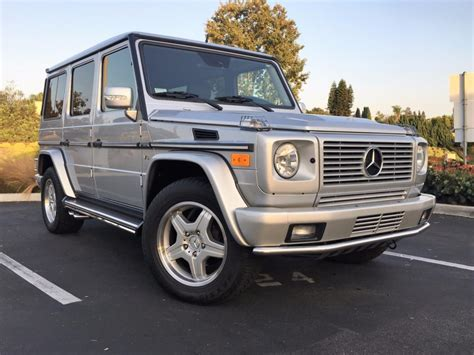 Mercedes G55 For Sale by 2003 Mercedes G55 Amg For Sale On Bat Auctions Sold