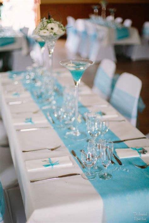 Decoration De Table Bleu Turquoise by 17 Meilleures Id 233 Es 224 Propos De D 233 Coration De Mariage