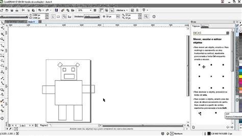 coreldraw x7 tutorial basico pdf aula 4 curso de coreldraw x7 desenho b 225 sico com formas