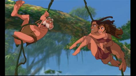 tarzan the jungle man swinging from a rubber band quotes from disneys tarzan quotesgram