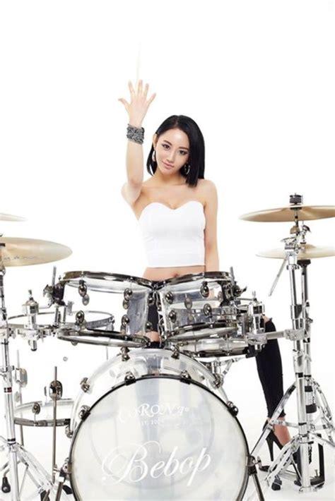 Cetak Foto Ala Polaroid Artis Korea foto foto drummer dari korea ah yeon