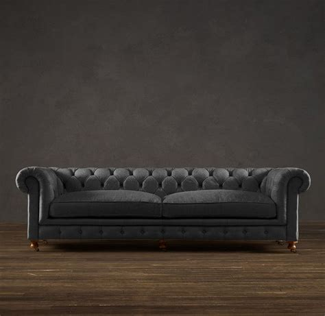 restoration hardware 98 quot kensington sofa office 1