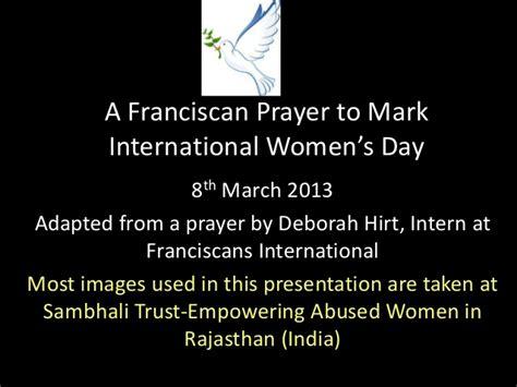 s day prayer prayer to international s day