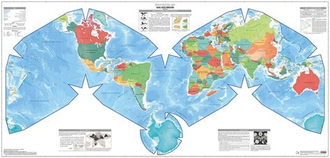 world atlas of breeds world map projections maps cahill keyes world map the lyncean group of san diego