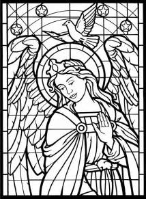stained glass coloring books coloring pages stainedglass window daily two cents