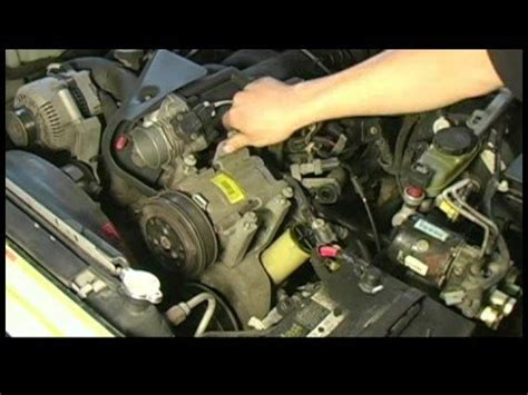 how to replace an air conditioning compressor in a ford explorer installing o rings for air