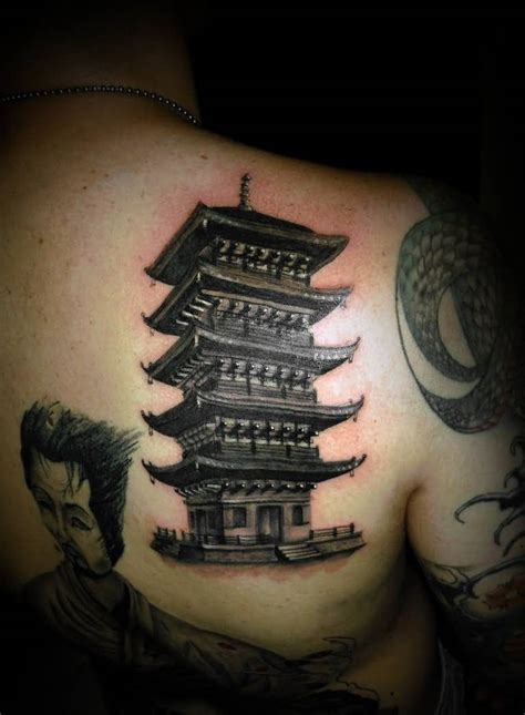 house tattoo japanese house tattoos