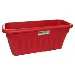 buy rectangular plastic planters large in green