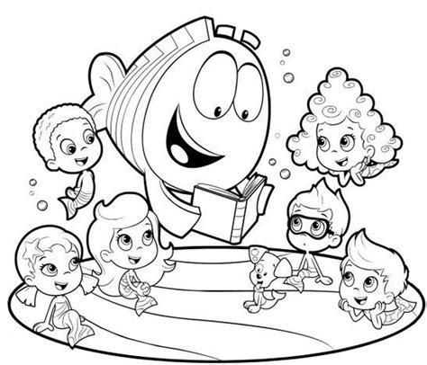 search results bubble guppies printable coloring pages pin by brian roberts on coloring pages pinterest