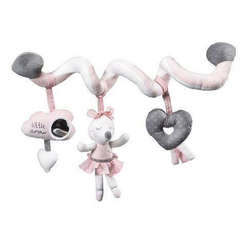 jouet de lit b 233 b 233 spirale lilibelle de sauthon baby deco