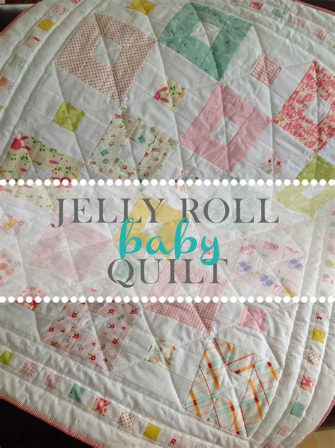 Baby Jelly Roll Quilt by Jelly Roll Baby Quilt