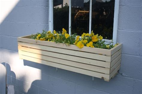 how to build a window planter box 12 gorgeous diy window box planters