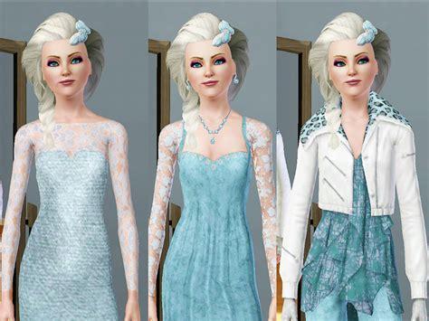 Elsa Sims 3 | ineliz s queen elsa