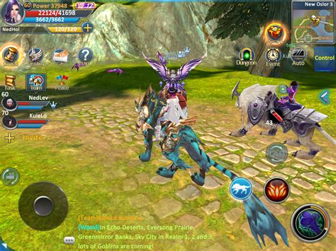 mmorpg android forsaken world mobile mmorpg android apps on play