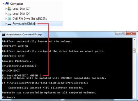 cara membuat usb bootable iatkos cara membuat bootable usb fashdisk installer windows 7