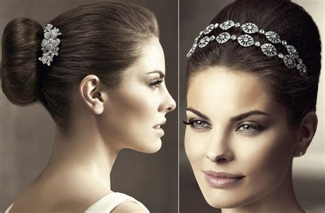 Wedding Hair Accessories Pictures by 2012 Wedding Hair Accessories Bridal Hairstyles Pronovias