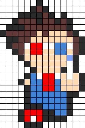 10th doctor pixel art minecraft pixel art templates on pinterest perler beads fuse