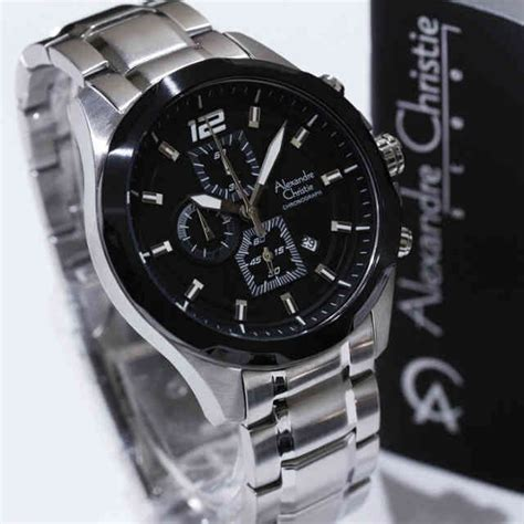 Original Alexandre Christie Ac 2646 Wanita Silver Combi White jam tangan ac 6384 silver combi black alexandre