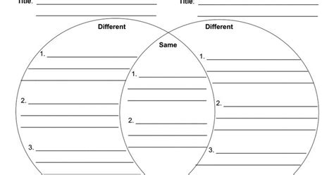 printable venn diagram with lines venn diagram with lines pdf homeschooling pinterest