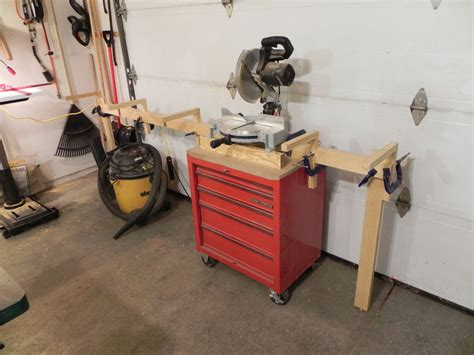 build miter saw bench diy miter saw stand dan s hobbies