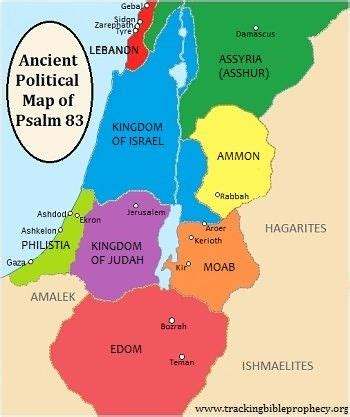 ancient middle east map judah 25 best ideas about psalm 83 on what is