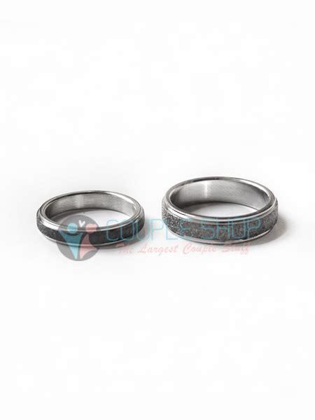 Cincin Pasangan Kawin Gold Hs09 Bahan Titanium Anti Pudar Free Ukir cincin 2014 shop