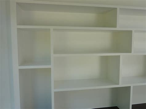 white box shelves fitted study cabinetry handmade by henderson