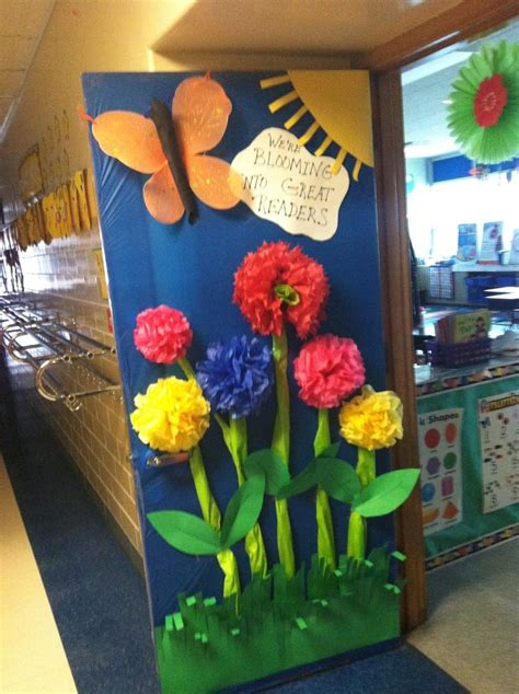 door decorations for spring spring classroom door classroom ideas pinterest i