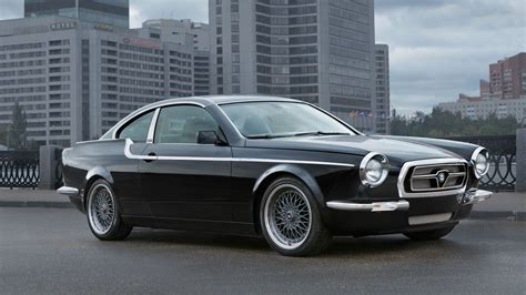 Russisches Auto by The Bilenkin Vintage Is A Customized Russian Reimagining