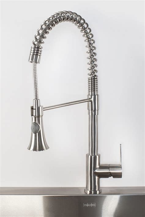pro kitchen faucet pull pro kitchen faucet for residential pros
