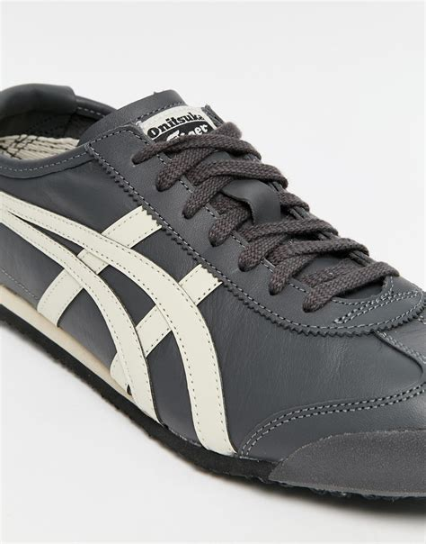 Asics Mexico 66 02 lyst asics onitsuka tiger mexico 66 trainers in gray for