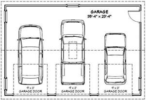 size of 3 car garage 28 average 2 car garage dimensions typical
