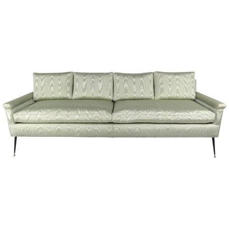 Mid Century Style Sofas by Large Mid Century Modern Italian Style Sofa For Sale At