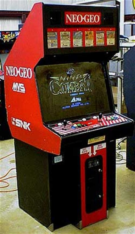 Mvs Cabinet by The History Of Snk Gamespot