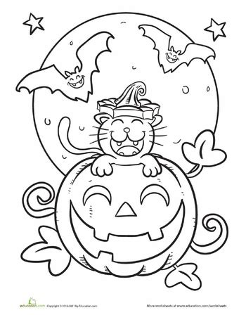 cute pumpkin coloring pages halloween cat coloring page coloring pumpkins and cute