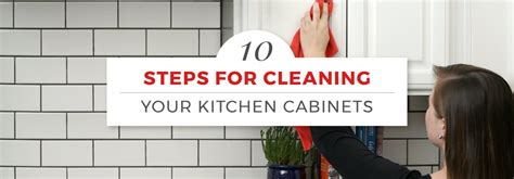 how to clean your kitchen cabinets how to clean kitchen cabinets in 10 steps with pictures