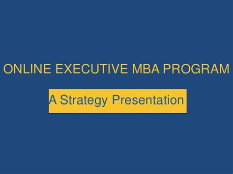 Rutgers Mba Curriculum Strategy by E Mba Insights Key Communication Strategy