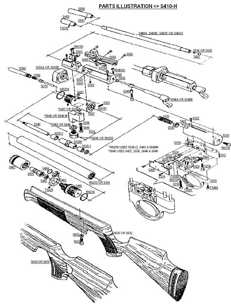 air rifle parts diagram air rifle parts diagram images frompo 1