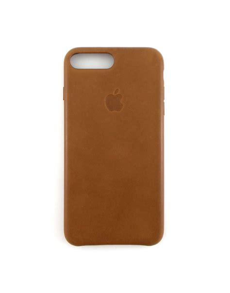 Diskon Leather For Iphone 7 7plus Brown apple leather for iphone 7 plus saddle brown mmyf2zm a ebay
