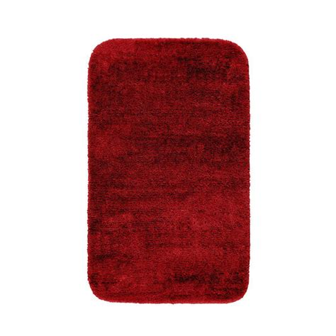 garland rug jazz chili pepper red 30 in x 50 in washable garland rug traditional chili pepper red 30 in x 50 in
