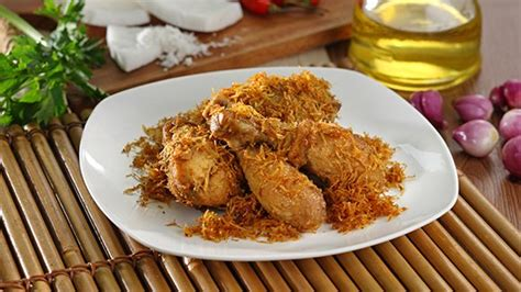 Minyak Goreng Kelapa 10 resep ayam goreng bumbu a la royco enak praktis