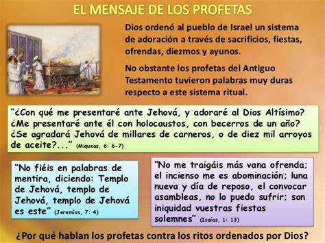los diezmos del antiguo testamento fueron abolidos los profetas y la adoracion