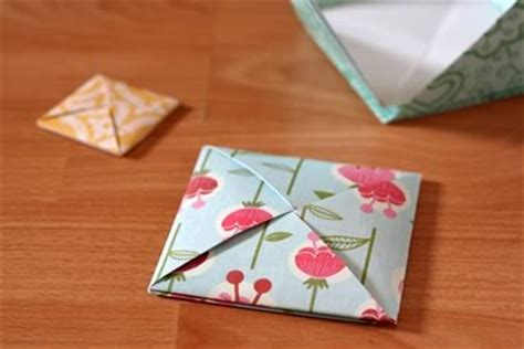 Origami Square Envelope - beautiful origami envelope folding and