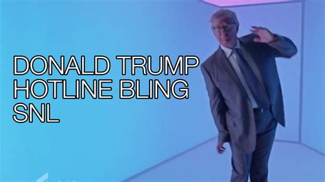 trump dances tweets ridicules himself on snl ny donald trump hotline bling dance meme snl saturday night