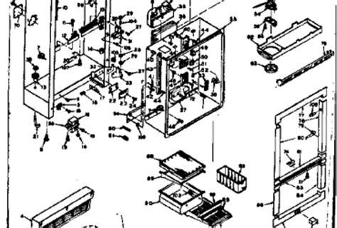 kenmore coldspot refrigerator wiring diagram sears
