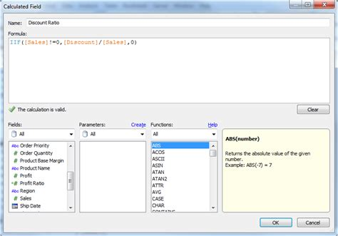 tableau tutorial calculated field sql i am trying to create a calculated field from
