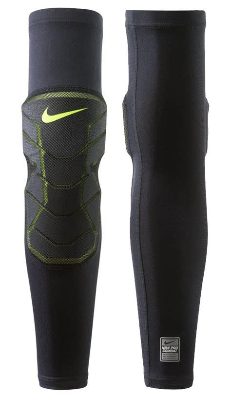 Legsleeve Padded Legpad Nike Polos Biru nike pro combat hyperstrong compression elite suche trail pads nike
