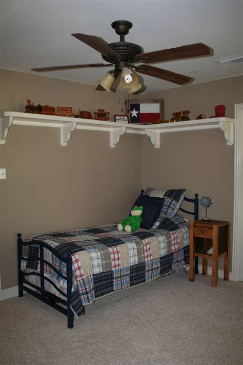 shelves for boys bedroom for shelf in boy s room for sports bedroom pinterest