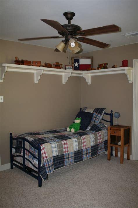 shelf  boys room  sports bedroom pinterest